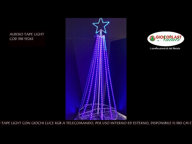 VIDEO ALBERO TAPE LIGHT
