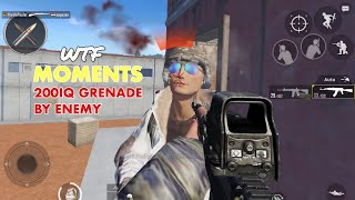 PUBG MOBILE - WTF FUNNY MOMENTS ! 200 IQ GRENADE BY ENEMY