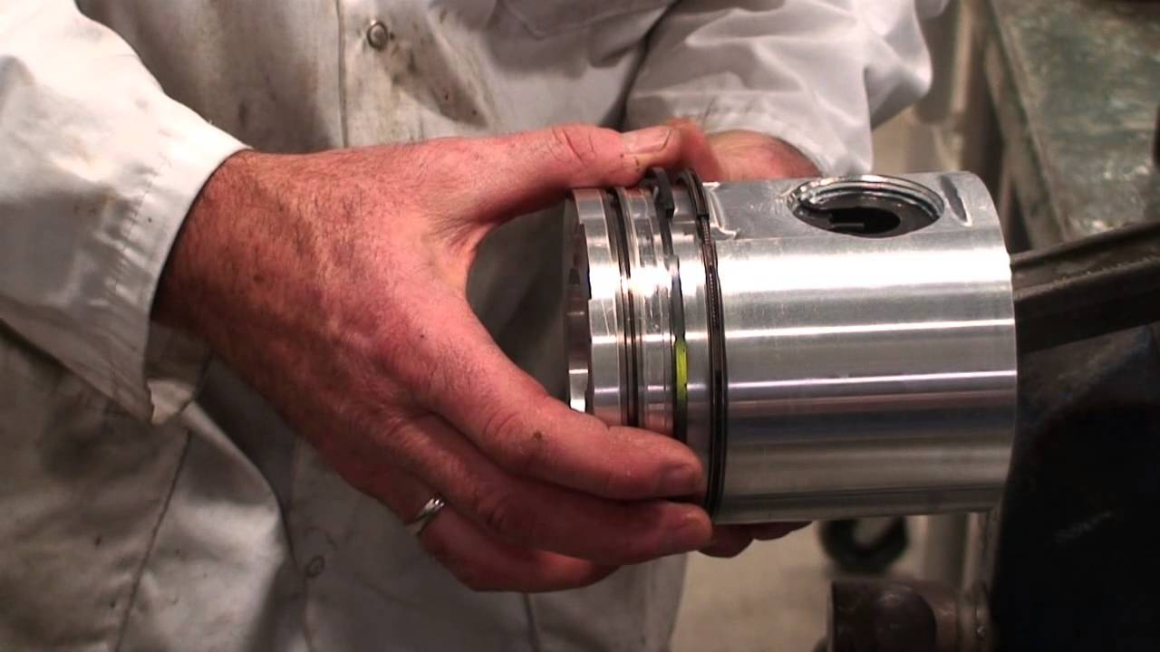 Piston Ring Installation Youtube Cat Engine 3406e Fuel Base Diagram