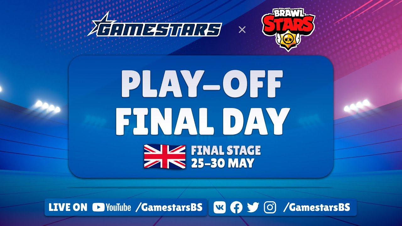 [EN] Brawl Stars Gamestars League: Season #1 | Final Stage | Final Day