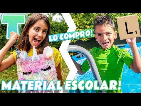 COMPRAMOS TODO el MATERIAL ESCOLAR por INICIALES - Vuelta al Cole