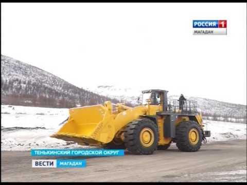 На Колыме теперь работает самый большой погрузчик Komatsu в России
