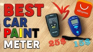 BEST CAR PAINT THICKNESS METER FROM ALIEXPRESS