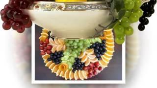 Как красиво украсить стол фруктовые ассорти
