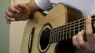 How To Play: Flaming by Sungha Jung (Part 2-1)