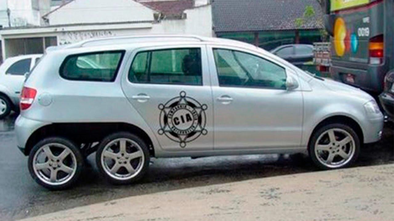 Carros Tunados Modificações Engraçadas #5