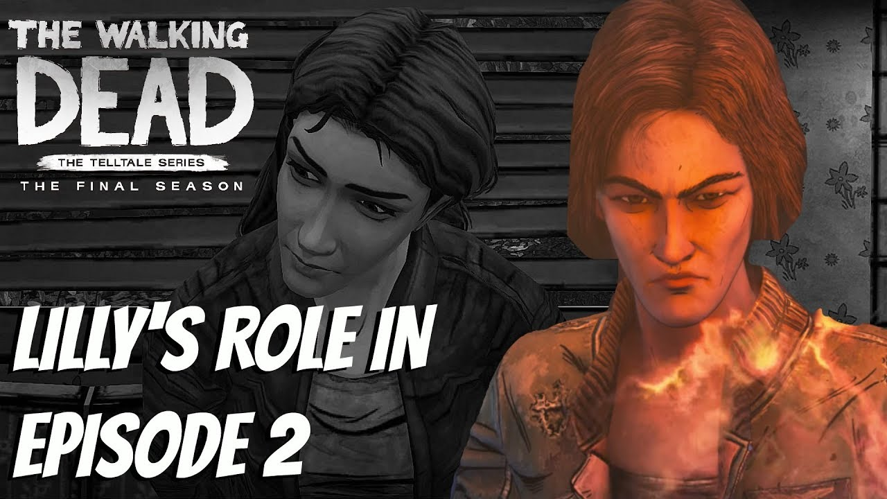 LILLY'S ROLE IN EP2 - The Walking Dead:Season 4 Episode 2