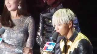 14 12 3 gd in waiting area taeyang s song of the year award 2014 mama in hk