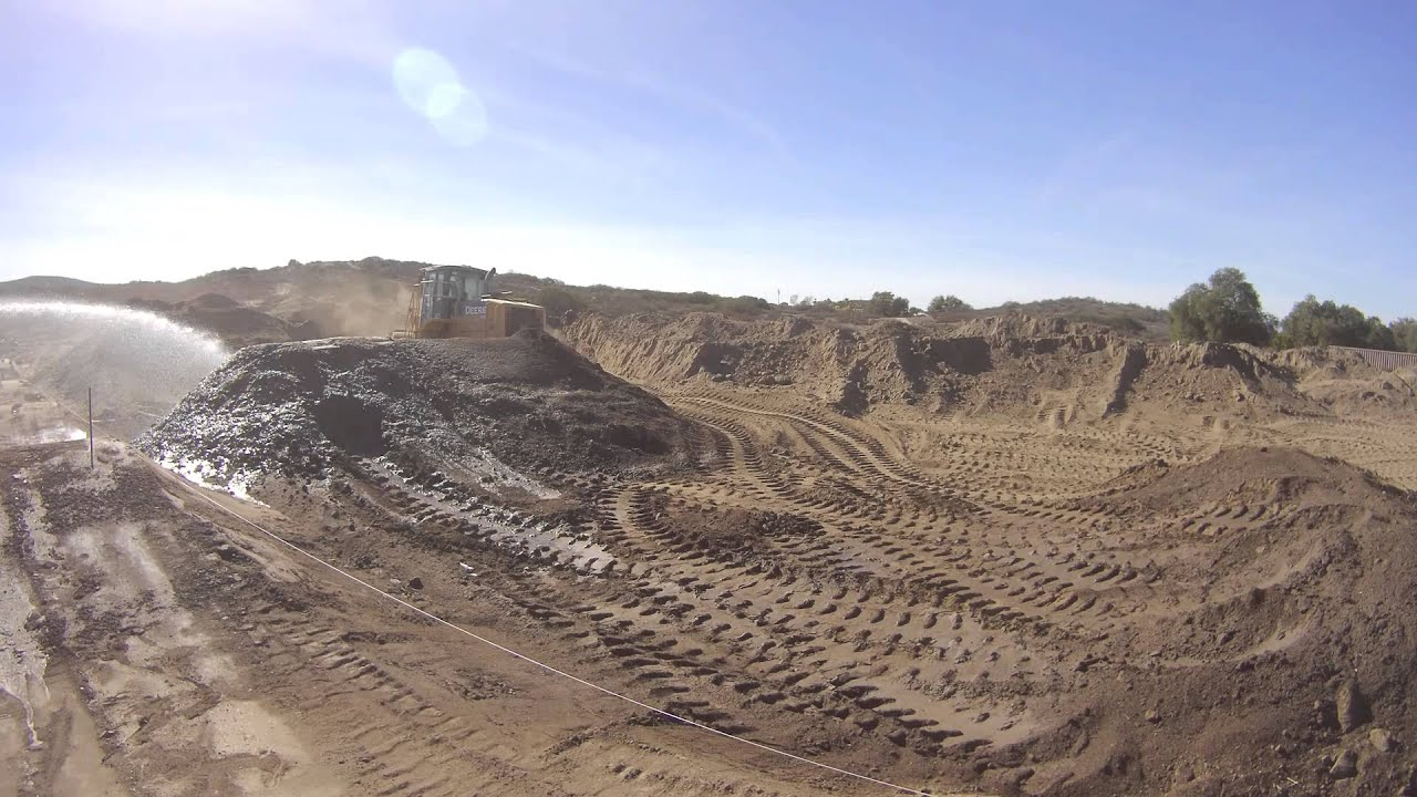 how to build a motocross track youtube