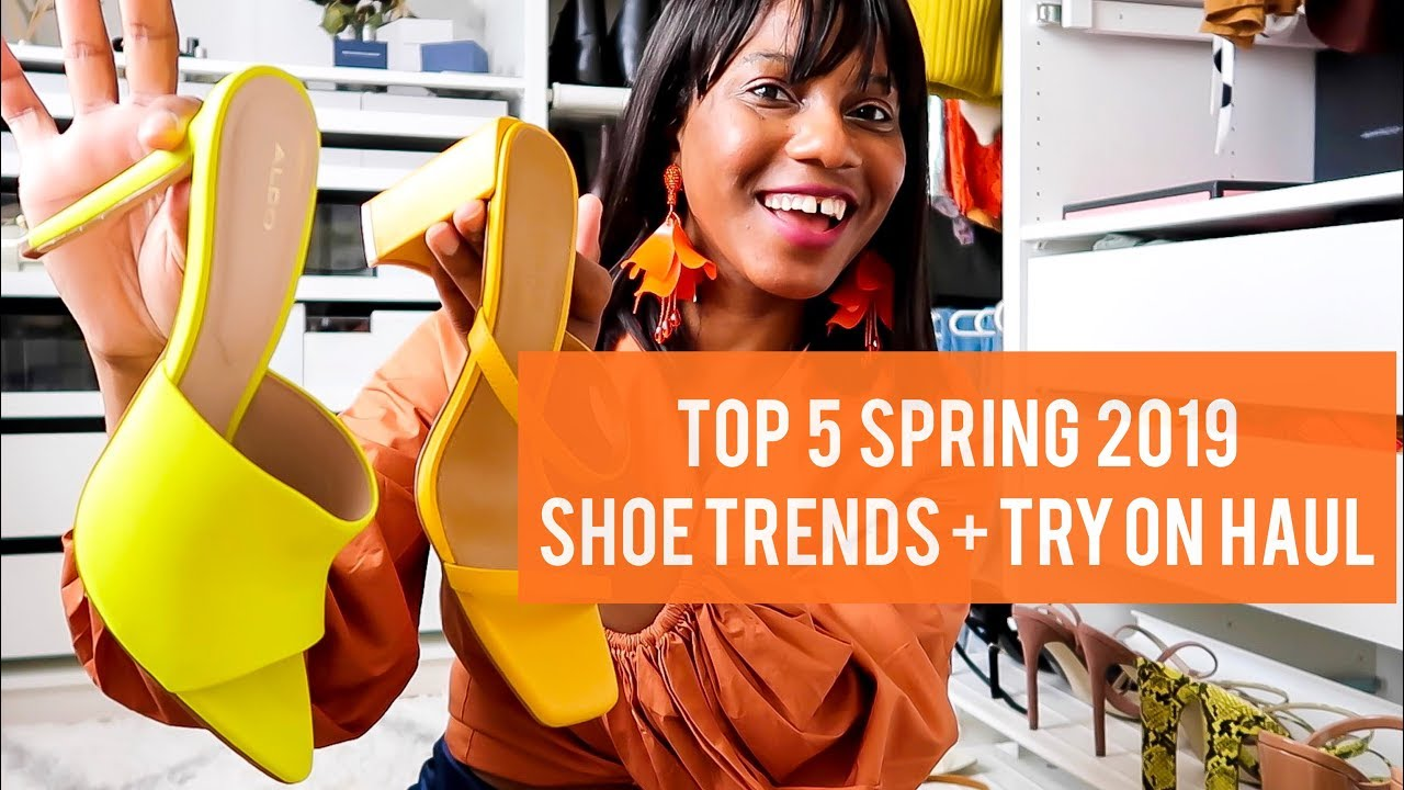 e1598922041 TOP 5 SPRING 2019 SHOE TRENDS + TRY ON HAUL