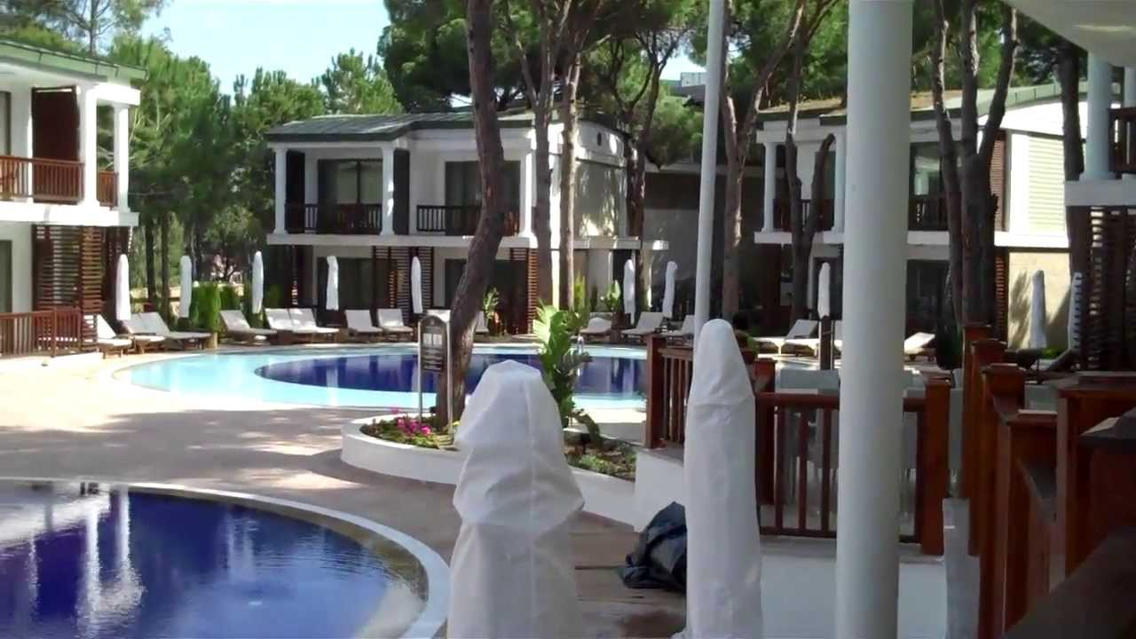 Laguna duplex villas voyage belek youtube for Villas vogue
