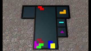 Tetris in Roblox Stop Motion