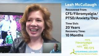 Leah McCullough tells of her CFS Fibromyalgia (Gulf War Syndrome?) Recovery