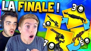 Fortnite  - *NEW MODE* JEUX D'ARMES AVEC MICHOU !! (LA FINALE)