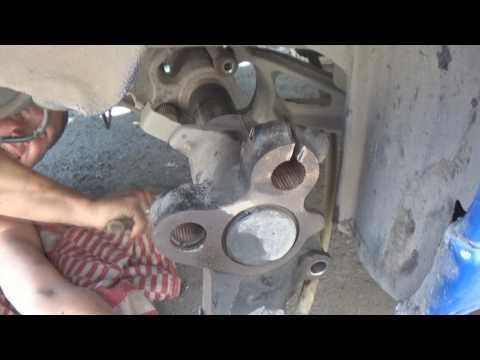 Пежо партнер ремонт задней балки видео