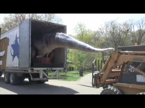 The DINOSAURS! Have Arrived at Cleveland Metroparks Zoo