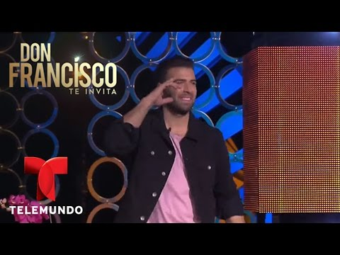Itatí Cantoral y Jencarlos Canela improvisan escena | Don Francisco Te Invita | Entretenimiento