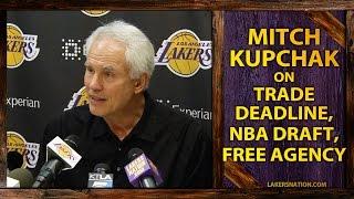 Lakers GM Kupchak On NBA Draft, 2015 Free Agency, NBA Trade Deadline