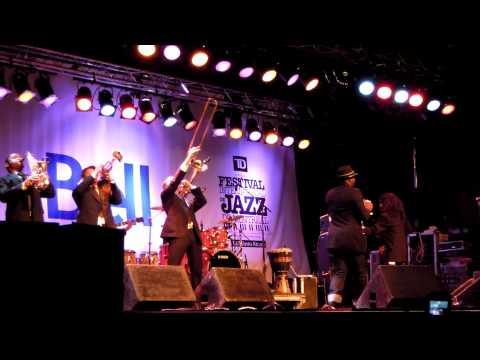 Something to believe Blitz Intro - Montreal Jazz Fest 2011