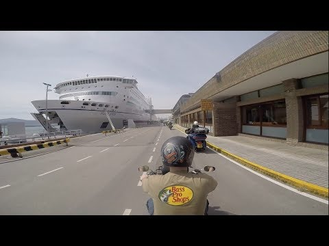 2017 Europe motorcycle trip part 1