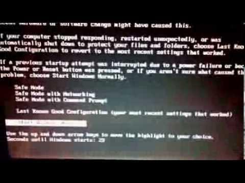 Windows Xp Doesn't Start Up