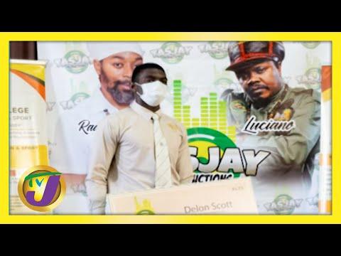 Record Label Creating Scholarship Opportunities | TVJ Smile Jamaica