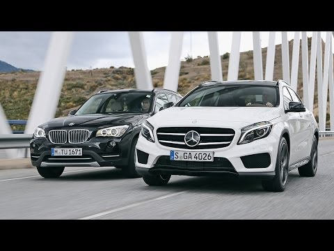 bmw x1 vs mercedes gla youtube. Black Bedroom Furniture Sets. Home Design Ideas