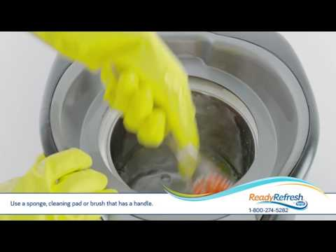 Easy Cleaning for Your Water Dispenser from ReadyRefresh℠ by Nestlé®