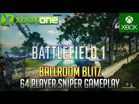 Battlefield 1 Scout Sniper M1903 Marksman Xbox One Conquest LIVE Stream (28-9) ᴴᴰ 1080/60fps