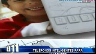 TELÉFONOS INTELIGENTES PARA INVIDENTES