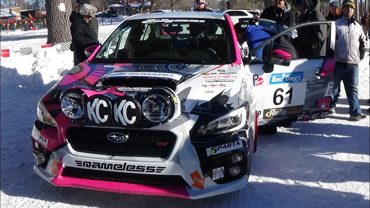 A sweet 2016 subaru wrx sti rally racing car sno drift rally america 2016 youtube