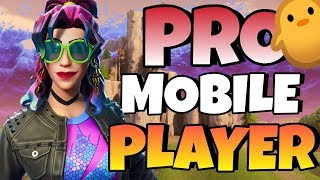 PRO Fortnite Mobile Player on IPAD // FAST Builder! // 190+ Wins! // Fortnite Mobile Gameplay + Tips