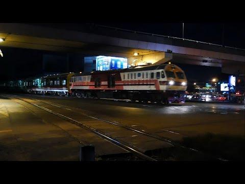 รถไฟไทย # ขบวนรถด่วนพิเศษ อีสานวัฒนา ที่ 23 กรุงเทพฯ - อุบลราชธานี