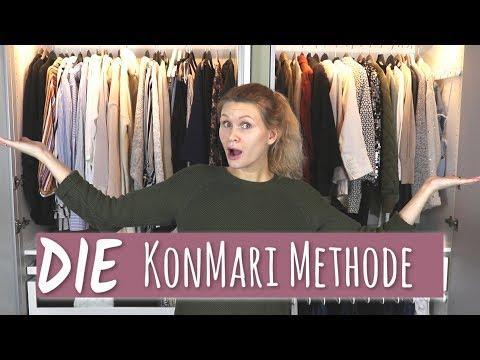 KONMARI METHODE | Kleiderschrank ausmisten und neu organisieren | Marie Kondo
