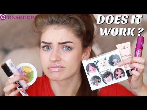 Testing NEW Essence Makeup - Full Face First Impressions | Jessie B