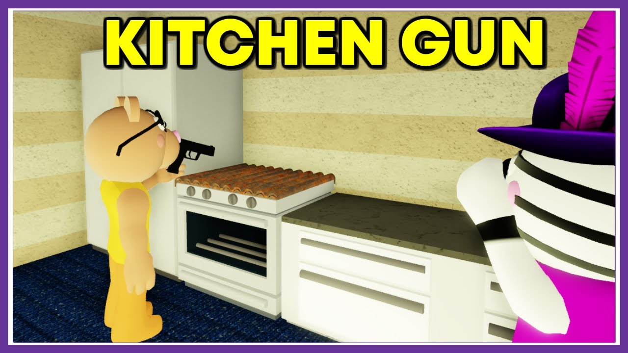 Kitchen gun - Piggy meme - Funny - YouTube