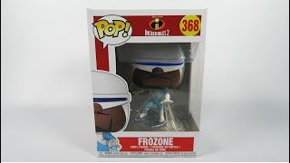 Funko Pop Vinyl The Incredibles 2 Frozone Unboxing