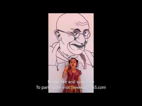 Gandiji song by cute little girl