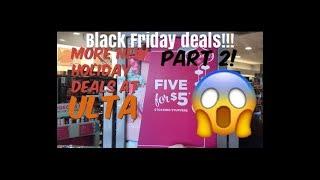 Black Friday Deals at ULTA | More Holiday Deals Part 2!