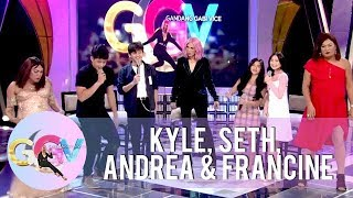 The Gold Squad takes on a rap battle | GGV
