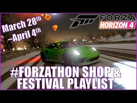 Forza Horizon 4 Festival Playlist & #Forzathon Shop Rewards!!! March 28th - April 4th thumbnail