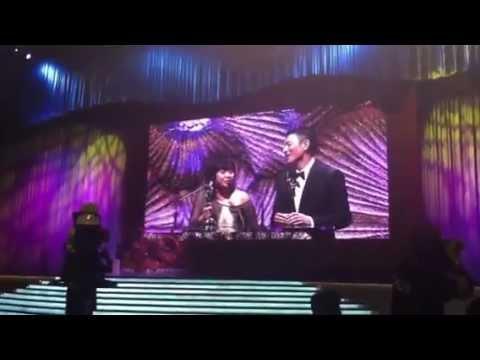 ASIA'S FAVORITE ACTRESS & ACTOR: Eugene Domingo & Andy Lau