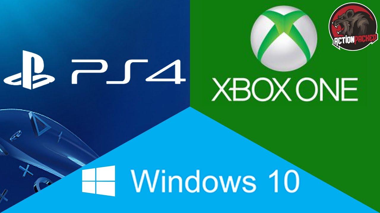 Xbox One, PS4, & PC: Cross-Platform Multiplayer News ...