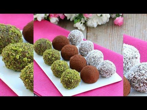 Çikolatalı Lezzet Topları Tarifi - Pratik Çikolatalı Truf