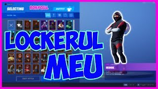 Arata Lockerul my OG pe FORTNITE | + 100 SKINS!!!