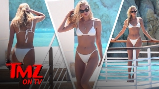 Elsa Hosk Flaunting Her Perfect Bod In France | TMZ TV