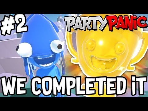 WE COMPLETED TROPHY ISLAND!! - Party Panic! #2 W/AshDubh