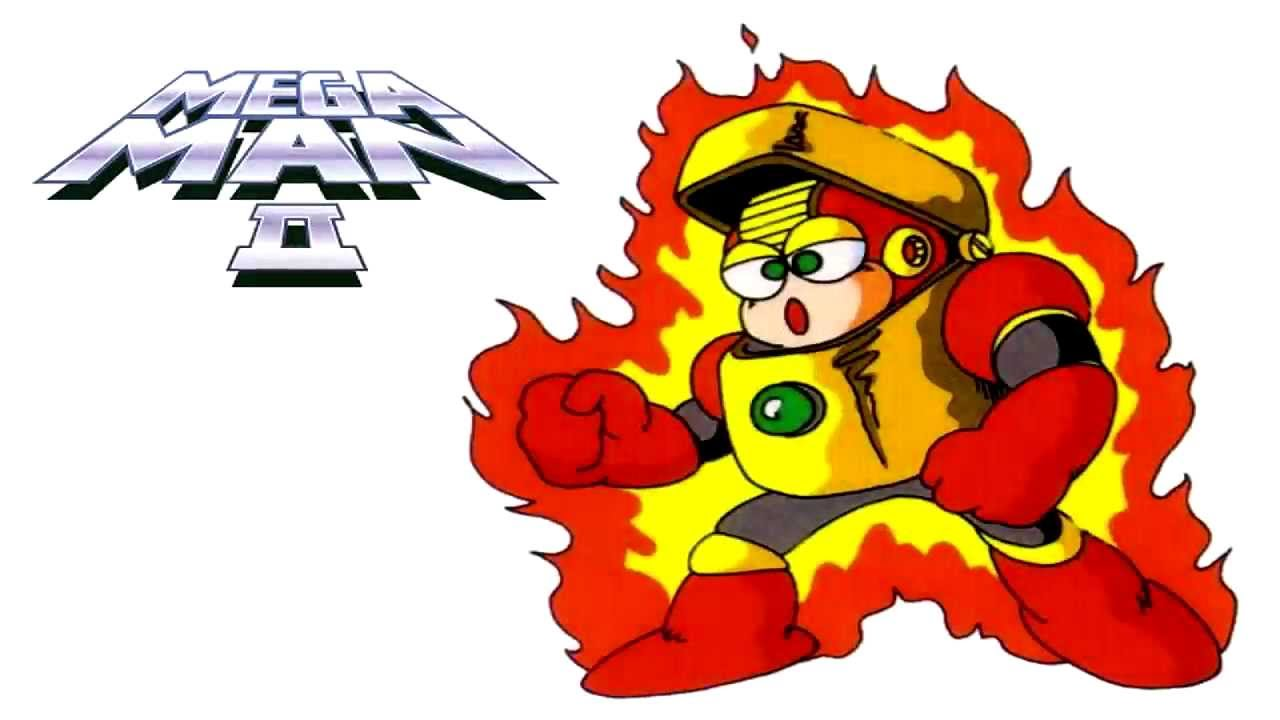 Mega Man 2 Heat Man Stage Sega Genesis Remix Youtube