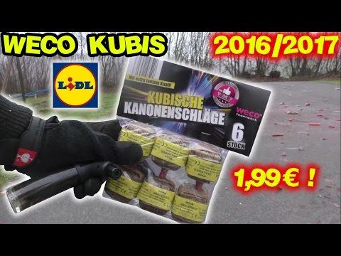 WECO KUBISCHE KANONENSCHLÄGE - *Aktuelleste 2016/2017er Charge* - 동영상