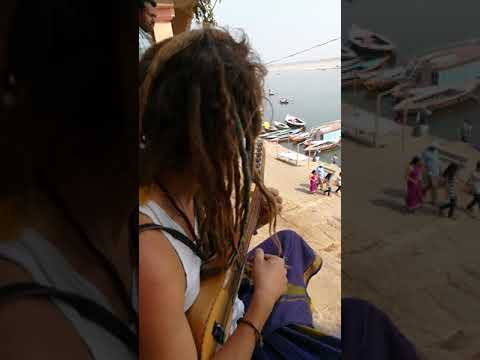 Ganges river / Varanasi - Good view and good song with my friend